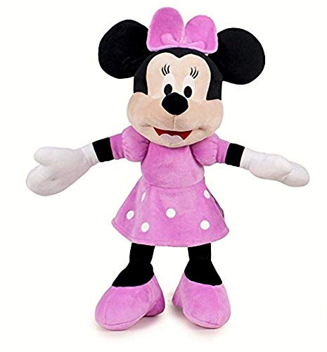 Play by Play Peluche Disney Minnie Mouse Supersoft 30 cms de pie / 20 cm Sentado