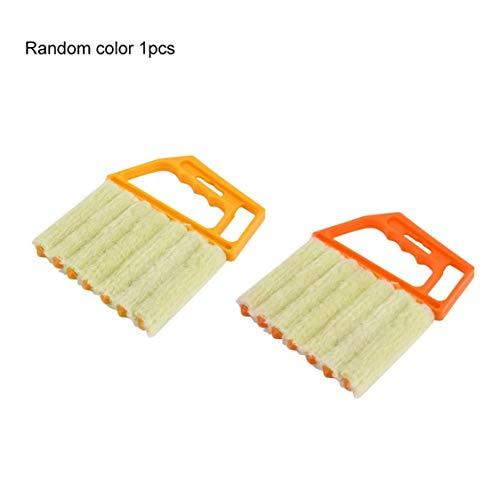 Dynamovolition - Cepillo para persianas venecianas multifuncional para ventana de aire acondicionado, plumero, suciedad y polvo, herramienta de limpieza para el hogar