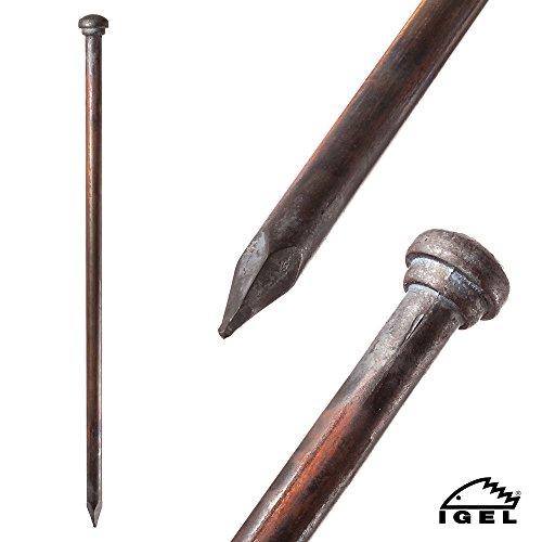 80cm Lang verschiedene L/ängen Schnurpf/ähle 800mm Schnureisen 3 St/ück 16mm Schnurpfahl Schnurnagel