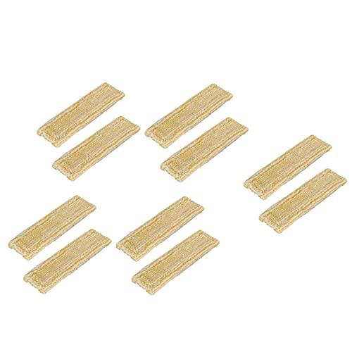 Sonline 10 Piezas Trapos de Microfibra para Fregona para Karcher WV2 WV5, Limpiador de Ventanas, MáQuina de Limpieza, Accesorios de Repuesto para el Hogar