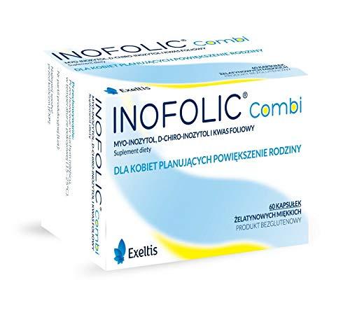 Inofolic Combi 60 Kapseln Schwangerschaft Ovulation PCOS Behandlung