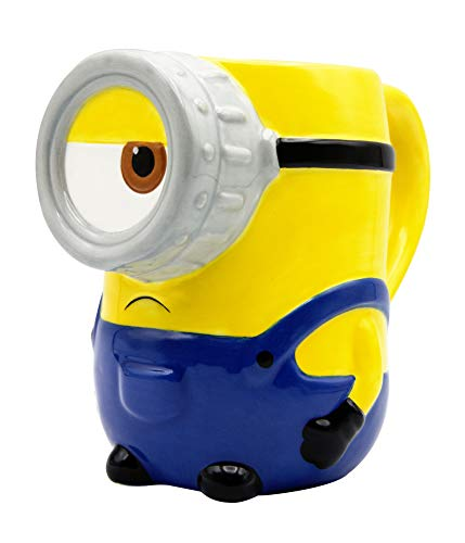 Joy Toy Taza 3D Stuart 375 ml. Minions