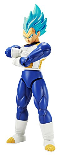 Bandai Hobby Figure-Rise Standard Super Saiyan God Super Saiyan Vegeta Dragon Ball Super, White