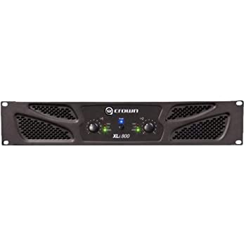 Crown XLi800 Two-channel, 300-Watt at 4Ω Power Amplifier