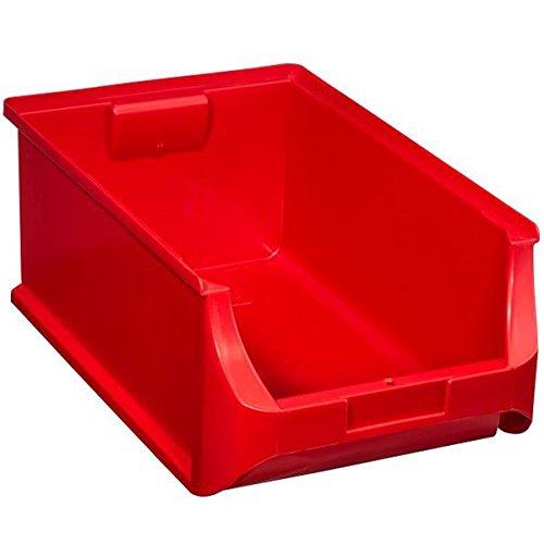 Allit 456217 Sichtbox Größe 5 500 x 310 x 200 mm in rot