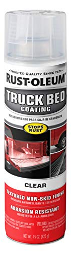 Rust-Oleum 352594-6PK Spray Truck Bed Coating, 6 Pack, Clear