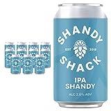 Shandy Shack | Craft Beer Shandy | Lower Alcohol, Vegan, Gluten-Free, Natural Ingredients • IPA Shandy (12 x