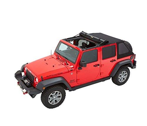 Bestop 5685317 All-New Trektop NX Black Twill Soft Top 4-door