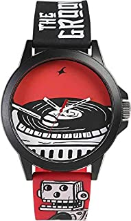 Fastrack Casual Watch For Unisex Analog Rubber - 38024PP43