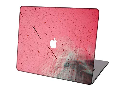 Laptop Case for Newest MacBook Pro 15 inch Model A1707/A1990,Neo-wows Plastic Ultra Slim Light Hard Shell Cover Compatible Macbook Pro 15 inch,Pink series 0934