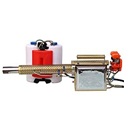 AIYLY 2020 Electric Pulse Jet Thermal Fogger, Long Spray Distance Atomizer Mosquito Killer & Disinfection Sprayer for Garden Weeding and Insecticide and Street Epidemic Prevention,C