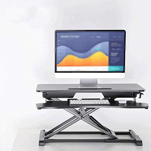 Computerbureau Opklapbaar bureau voor kleine ruimte Hoekbanken Thuis Eenvoudige computerbureau met plank Opklapbare laptoptafel 950 * 640 mm