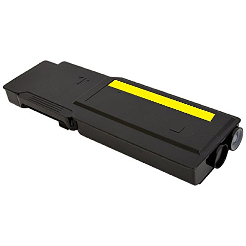 Pegasus Compatible Replacement for Dell S3840, S3845 9K Extra Hi-Yield Yellow Toner 593-BBZY, 593-BCBD, 47J73, 8PGWX, XMHGR, YC7M7