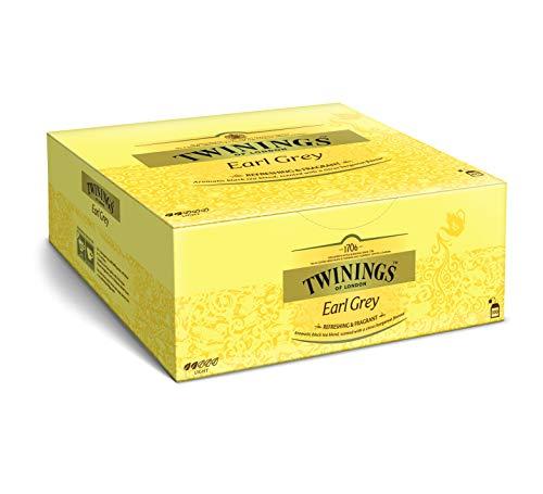 Twinings Earl Grey - Schwarzer Tee im Teebeutel verfeinert mit Bergamotte-Aroma - erfrischender Schwarztee aus China, 100 Teebeutel (200 g)