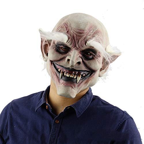 ARTOOL Halloween Horror Maschera Stregone del Pagliaccio a Maschera di Protezione Completa in Lattice Masquerade Halloween Party Mask Fuga Vestire Partito per Adulti