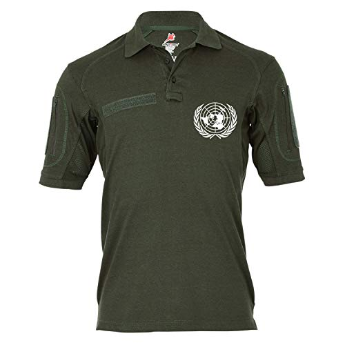 Copytec Copytec Tactical Poloshirt Alfa - UN United Nations Vereinte Nationen Staaten #19327, Größe:S, Farbe:Oliv
