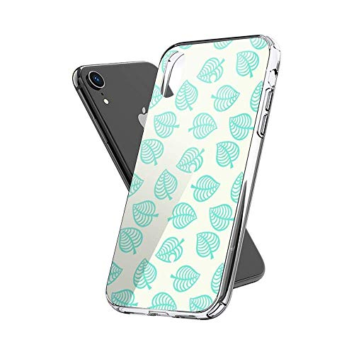 FGHSFRT Animal Crossing New Horizons Tom Nook Animal Crossing Aloha Repeating Pattern Case Cover kompatibel für iPhone (X/XS)
