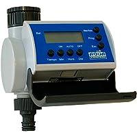 Aqua Control C4100 Programador de Riego para Jardín-con Pantalla LCD-Hasta 8 Arranques por día