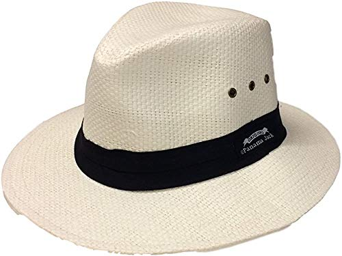 Panama Jack Herren-Hut Toyo Safari PJ83-NAT (Elfenbein, Größe L)