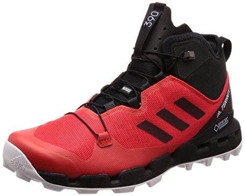 adidas Herren Terrex Fast Mid GTX-Surround Trekking- & Wanderstiefel, Rot (Roalre/Negbás/Griuno 000), 46 2/3 EU