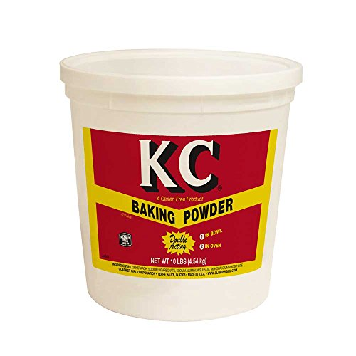 KC Gluten Free Baking Powder, 10 Pound -- 4 per case.
