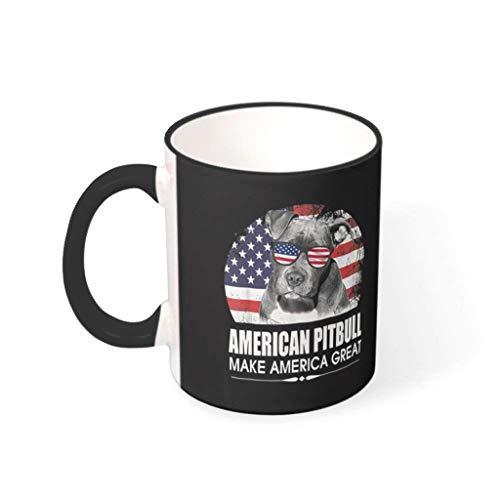 COMBON Shop Taza de café americana taza con mango de cerámica única taza - Halloween drakblack 330ml