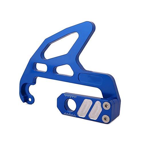 LYYAN Bueno Protector de Disco de Freno Trasero de Motocicleta Aleación de Aluminio CNC Firma Adecuado para Motocicleta Todoterreno SXS 85 freeride250 / 350 TC85 Los 24x19x8CM 1 Articulo Calidad