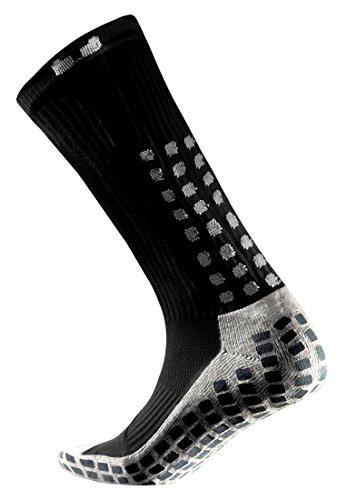 Trusox Mid-Calf Thin Chaussettes Homme, Noir, FR : L (Taille Fabricant : L-44+ EU)