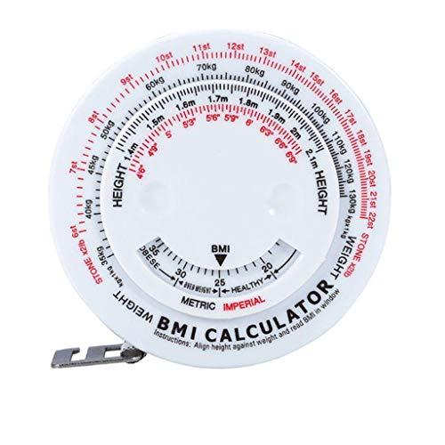 jieGorge Arts,Crafts & Sewing RäUmungsverkauf!!!Body Mass Measuring Tape mit BMI-Rechner - Fitness-Gewichtsverlust-Muskelfett-Test