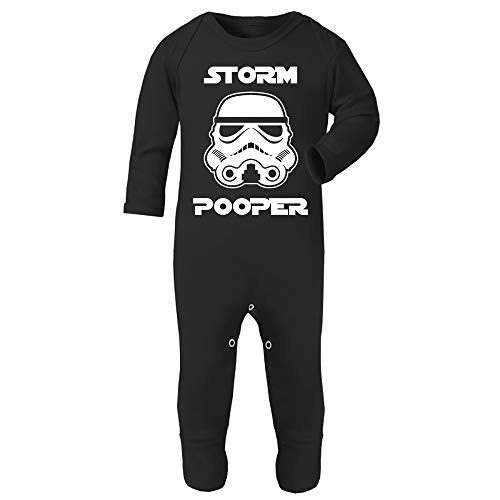 Original Stormtrooper Storm Pooper Baby and Toddler Romper Suit