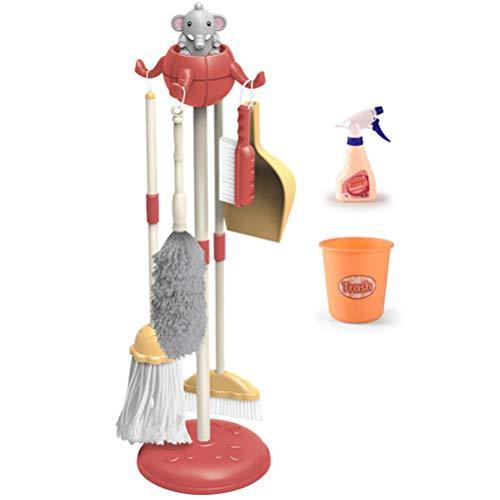 WBTY Kinder-Reinigungswerkzeug, Spielzeug, Haushaltsspielzeug-Set, Mini-Reiniger, Wischmopp, Besen, Zubehör, Spielzeug für Kinder
