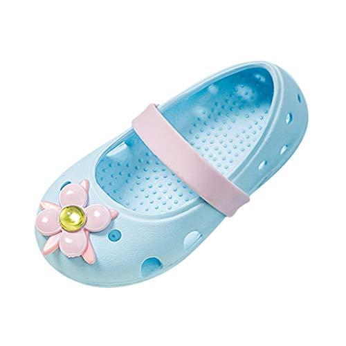 Hausschuhe Mädchen Pwtchenty Kinder Sandalen für Mädchen Kinder Schuhe Jungen Mädchen Closed Toe Sommerblumensandalen Schuhe Turnschuhe