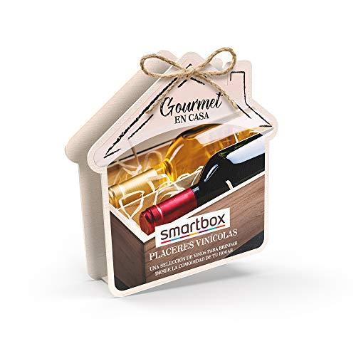 Smartbox - Caja Regalo Amor para Parejas - Placeres vinícolas - Ideas Regalos Originales - 1 Surtido vinícola para 2 Personas