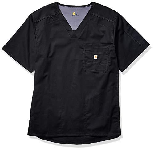 Carhartt Men's Slim Fit 6 Pkt Top, Black, X-Large