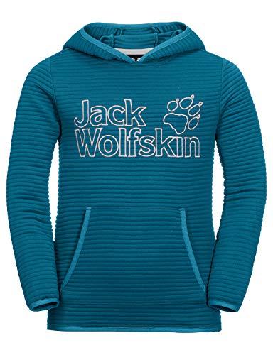 Jack Wolfskin Kinder Modesto Hoody Kapuzenpullover, Celestial blau, 116