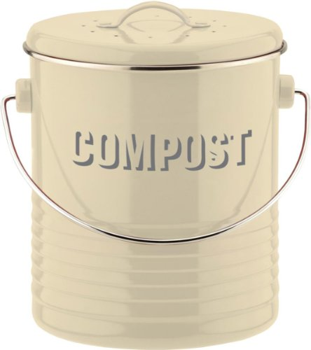 Typhoon 1400.551 - Cubo para Compost, Color Crema