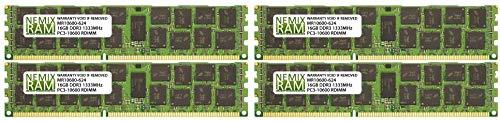 64GB 4X16GB NEMIX RAM Memory for Apple Mac Pro 2010 & 2012