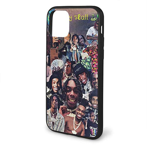 YNW Melly iPhone 11 Pro Max Case, 3D TPU Thicken Basic Case Shockproof Phone Protective Cover for iPhone 11 Pro Max