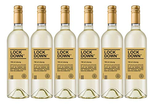Lockdown Dagernova Spätburgunder Blanc de Noir, Dagernova Weinmanufaktur, Bad Neuenahr-Ahrweiler, Ahr, Jahrgang 2020 (6 x 0,75 l)