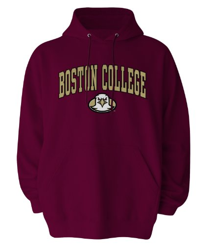 Old Varsity NCAA Boston College Eagles Gildan Hoodie, XX-Large, Maroon