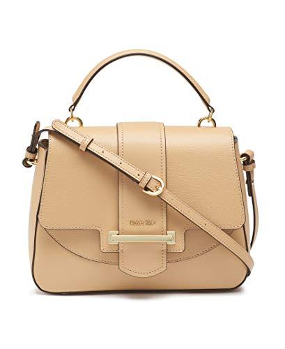 Calvin Klein Amara Hermine Leather Top Handle Satchel, RYE1