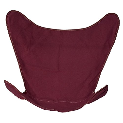 Algoma Net Replacement Cover for Butterfly Chair -Burgundy Cotton Duck Fabric (No. 10) 4916-116