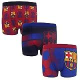FC Barcelona - Pack de 3 calzoncillos oficiales de estilo bóxer...