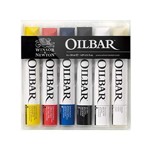 Winsor & Newton Artists' Oilbar Set de 6 colores al óleo en barra 50 ml