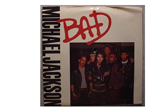 Rare Michael Jackson Mint / NM White Label Promo 7 Inch 45 & Promo Picture Sleeve - Bad - Epic Records - 1987 - Translucence Vinyl
