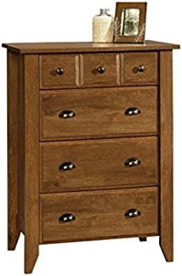 Amazon.com: six-drawer camisón pecho w acabado en cerezo ...
