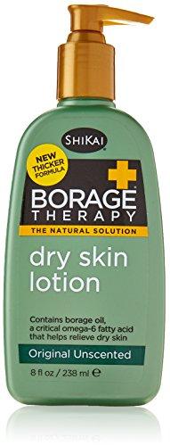 Shikai Lotion Dry Skin Therapy, Borage, 8 Fluid Ounce