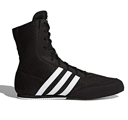 adidas Herren Box Hog 2 Boxing Shoe, Core Black/Cloud White/Core Black, 42 EU