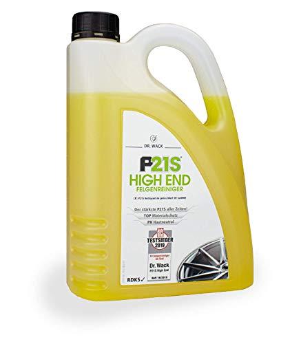 Dr. Wack – P21S HIGH END Felgenreiniger 2 L I Premium Felgen-Reinigung für alle Felgen I Testsieger I PH hautneutral I Hochwertige Felgenpflege – Made in Germany