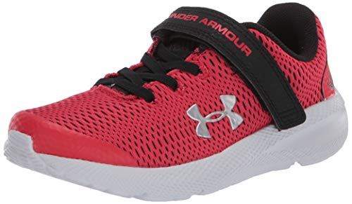 Under Armour Unisex-Kinder Pre School Pursuit 2 Ac LaufschuheRot (Versa Red/Black/Metallic Silver (600) 600), 32 EU (13.5 UK)